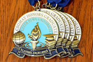 Csomay medals-Bridge