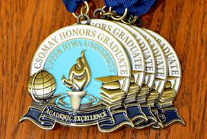 Csomay medals-Bridge