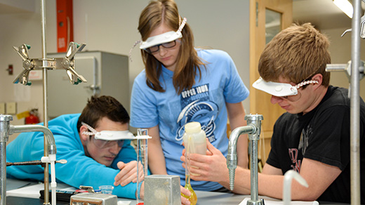 In addition to funding seven scholarships to be awarded each year to freshman in 2017 and 2018, UIU's recently awarded S-STEM Grant funds will be used by the University to research and strengthen STEM-related educational and programming opportunities — not only for UIU but all educational institutions