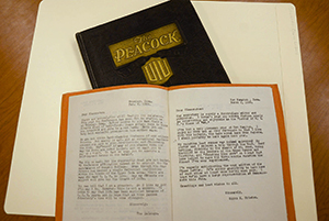 "Class of '26 Yearbook and ""Class of '26: UIU 1929 Class Letter"""